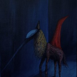 Milas Pferd (60cm x 40cm)