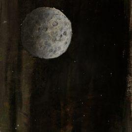 Mond (35cm x 62cm)