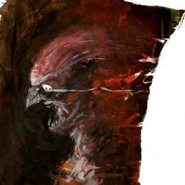 Monster (53cm x ca.38cm)