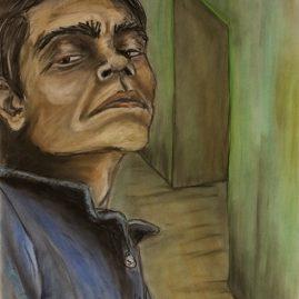 Portrait mit Raum (59cm x 41cm)