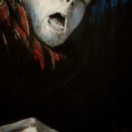 Selbstportrait (40cm x 30cm)