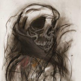 Skelett (88cm x 62cm)